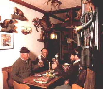 Jagdzimmer Jagdhaus Weber