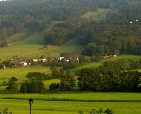 Jagdhaus Weber in der Natur